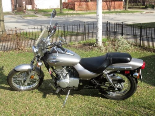 2009 Kawasaki Eliminator Silver for sale craigslist