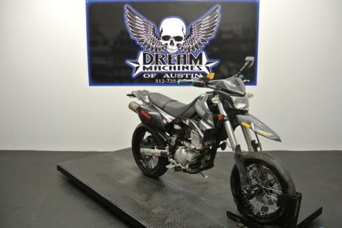 2009 Kawasaki KLX 250SF Supermoto -- Black for sale
