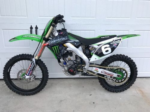 2009 Kawasaki KXF Green for sale craigslist