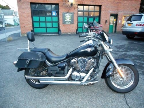 2009 Kawasaki Vulcan Black photo