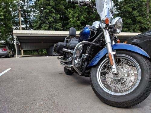 2009 Kawasaki Vulcan Blue for sale craigslist