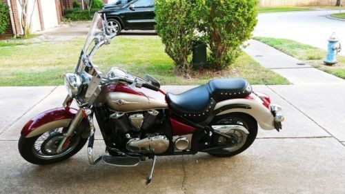 2009 Kawasaki Vulcan Burgundy for sale craigslist