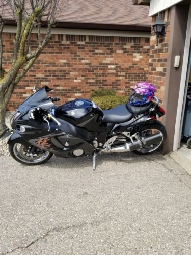 2009 Suzuki Hayabusa Black photo