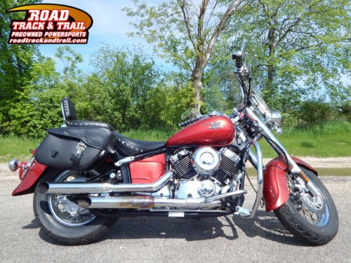2009 Yamaha V Star Silverado -- Red for sale craigslist