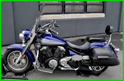 2009 Yamaha V Star Dark Metallic Blue craigslist