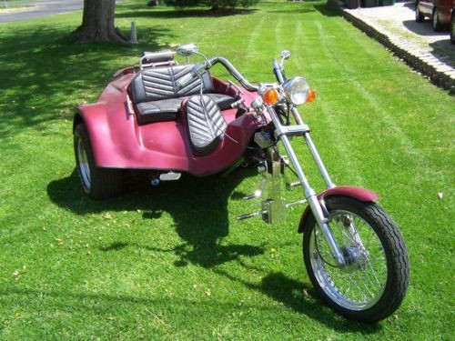 2010 Custom Built Motorcycles vw Crossfire red for sale