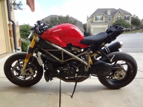 2010 Ducati Streetfighter 1098S Red for sale craigslist