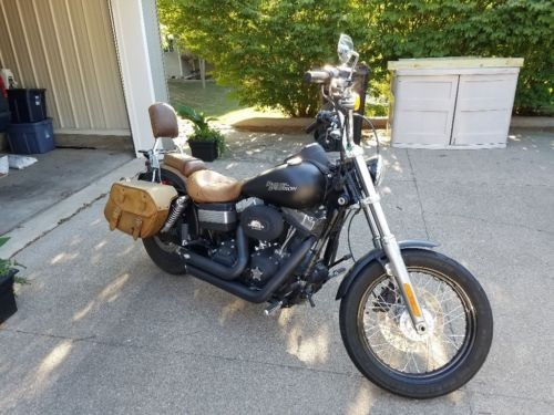 2010 Harley-Davidson Street Bob FXDB Black for sale