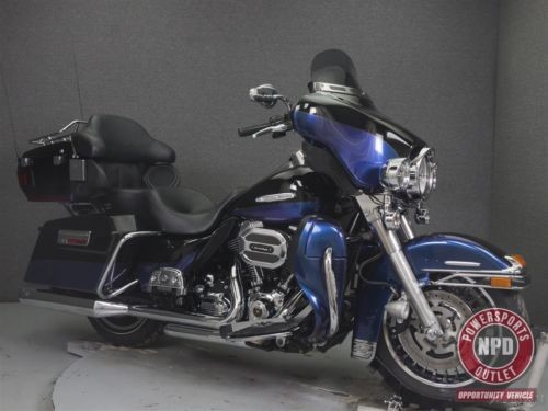 2010 Harley-Davidson Touring Black for sale