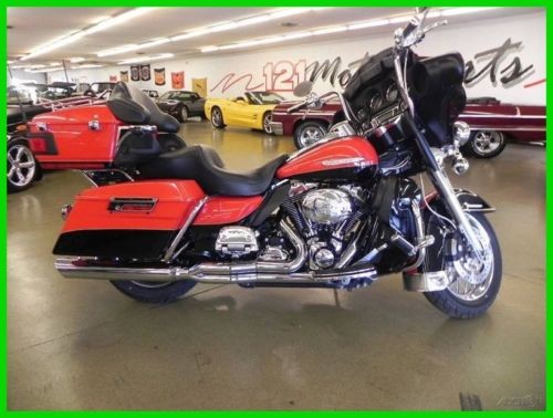 2010 Harley-Davidson Touring Red for sale