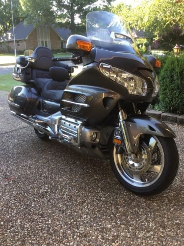 2010 Honda Gold Wing Gray photo