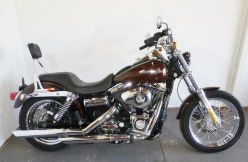 2011 Harley-Davidson Dyna DYNA SUPER GLIDE CUSTOM FXDC Brown for sale