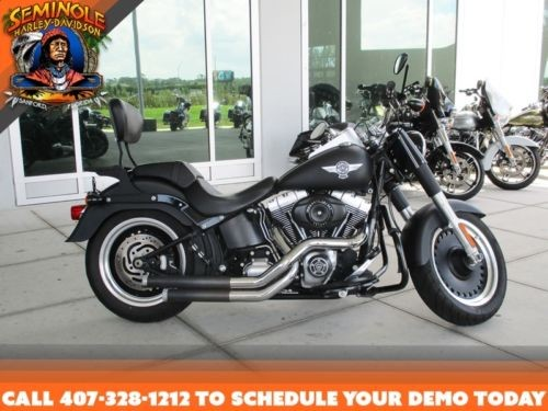 2011 Harley-Davidson FLSTFB - Softail® Fat Boy® Lo -- Black craigslist