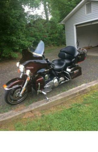 2011 Harley-Davidson Touring Black/Cranberry for sale craigslist