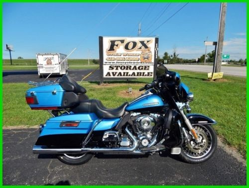 2011 Harley-Davidson Touring FLHTK Electra Glide® Ultra Limited - Two Tone Opt. Cool Blue Pearl / Vivid Black for sale craigslist
