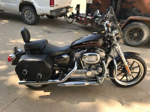 2011 Harley-Davidson XL883L - Sportster SuperLow -- Merlot Sunglo for sale craigslist