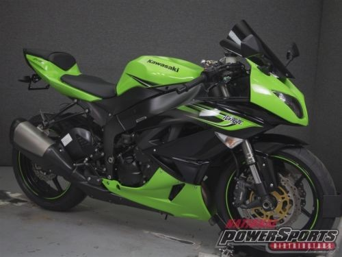 2011 Kawasaki Ninja ZX6R 600 Black for sale