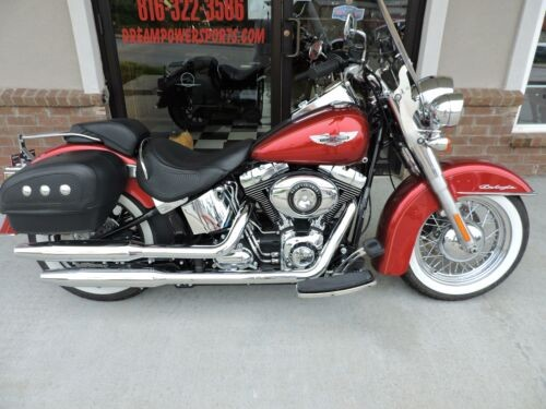 2012 Harley-Davidson Softail Deluxe -- BURGANDY photo
