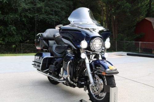 2012 Harley-Davidson Touring Black / Blue for sale craigslist