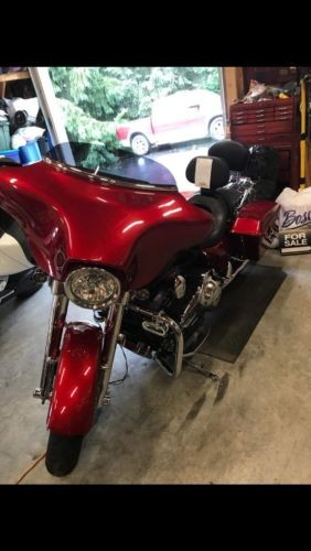 2012 Harley-Davidson Touring Ember Red Sunglow craigslist