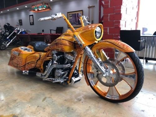 2012 Harley-Davidson Touring Orange for sale