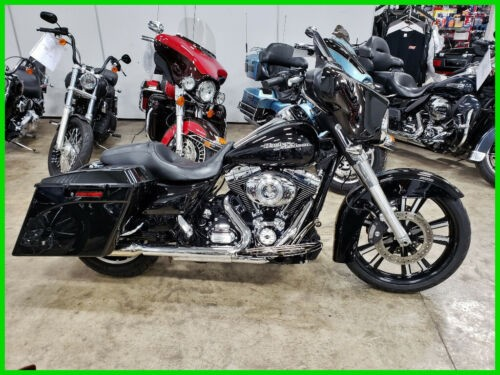 2012 Harley-Davidson Touring Vivid Black photo