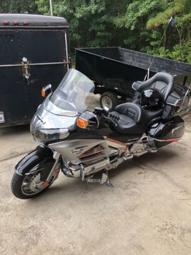 2012 Honda Goldwing Black for sale