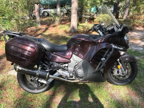 2012 Kawasaki Concours 14 Arabian Red for sale craigslist