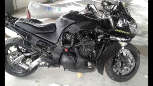 2012 Kawasaki Concours Black for sale