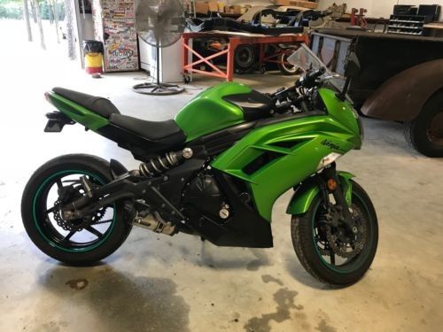 2012 Kawasaki Ninja Green for sale