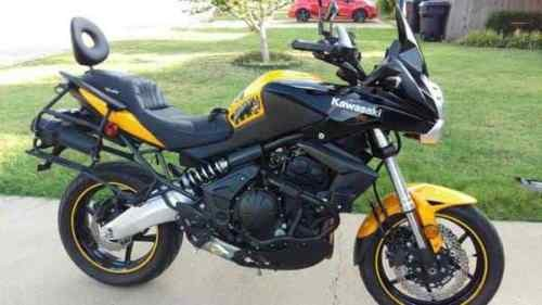 2012 Kawasaki Versys Yellow for sale craigslist