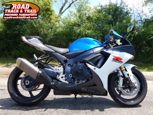 2012 Suzuki GSX-R -- Blue for sale