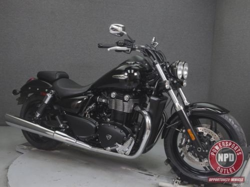 2012 Triumph Thunderbird STORM WABS JET BLACK for sale