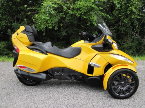 2013 Can-Am Spyder RT-S SM5 Touring Yellow craigslist