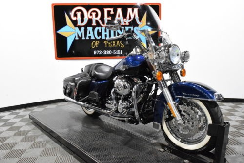 2013 Harley-Davidson FLHRC - Road King Classic -- Blue for sale craigslist