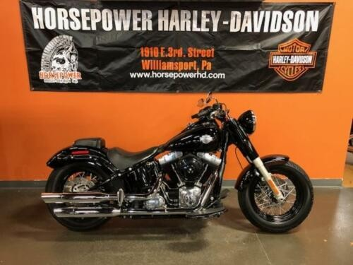 2013 Harley-Davidson FLS - Softail® Slim™ -- Black for sale