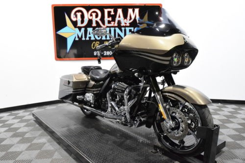 2013 Harley-Davidson FLTRXSE2 - Screamin Eagle Road Glide Custom CVO -- Gold craigslist