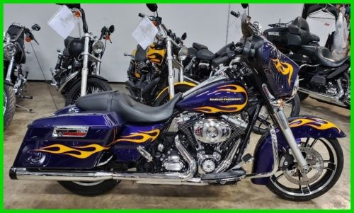 2013 Harley-Davidson Touring Deep Purple / Flames craigslist