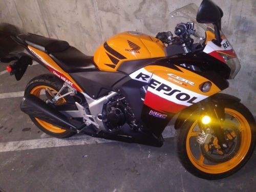 2013 Honda CBR Orange for sale craigslist