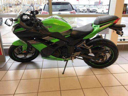 2013 Kawasaki Ninja Green for sale