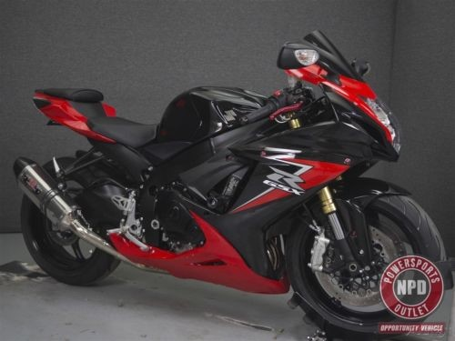 2013 Suzuki GSX-R GSXR750 RED/BLACK for sale craigslist