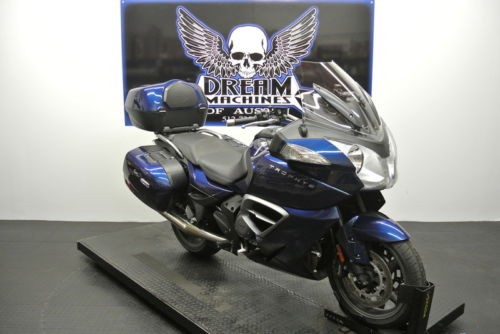 2013 Triumph Trophy -- Blue for sale