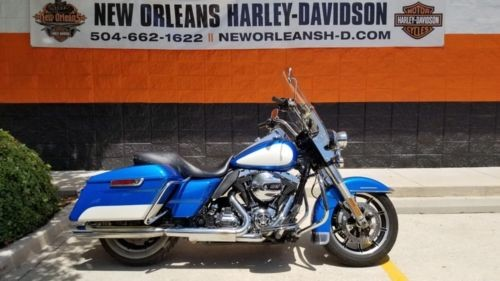 2014 Harley-Davidson Touring Blue for sale craigslist