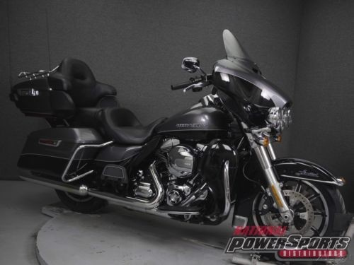 2014 Harley-Davidson Touring FLHTK ELECTRA GLIDE ULTRA LIMITED CHARCOAL PEARL/VIVID BLACK for sale