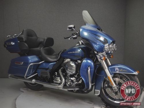 2014 Harley-Davidson Touring FLHTK ELECTRA GLIDE ULTRA LIMITED DAYTONA BLUE for sale
