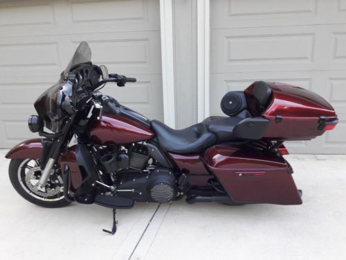 2014 Harley-Davidson Touring Mysterious Red Sunglo for sale craigslist