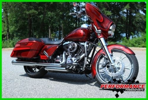 2014 Harley-Davidson Touring Red for sale