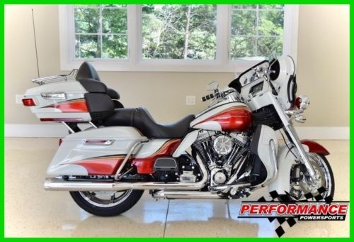 2014 Harley-Davidson Touring White w/ Red Accents craigslist
