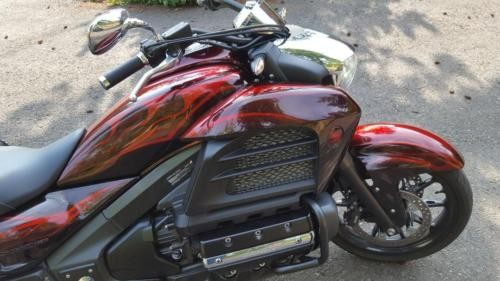2014 Honda Valkyrie Custom Burgundy for sale craigslist