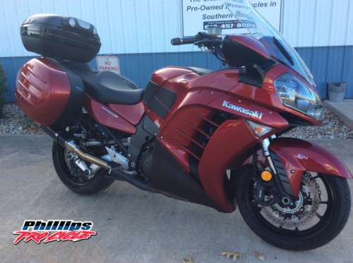 2014 Kawasaki Concours ABS Red photo